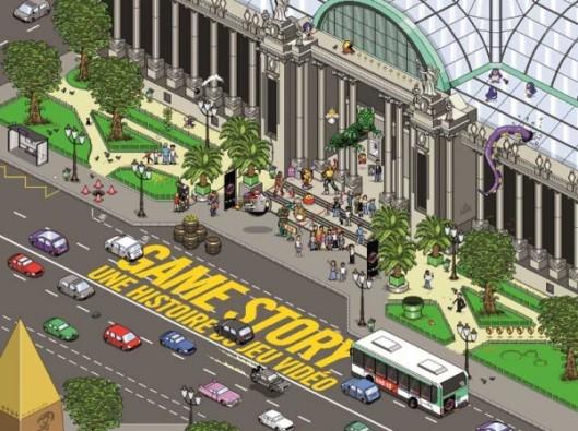 Game Story au Grand Palais, ou comment je suis retombée en enfance