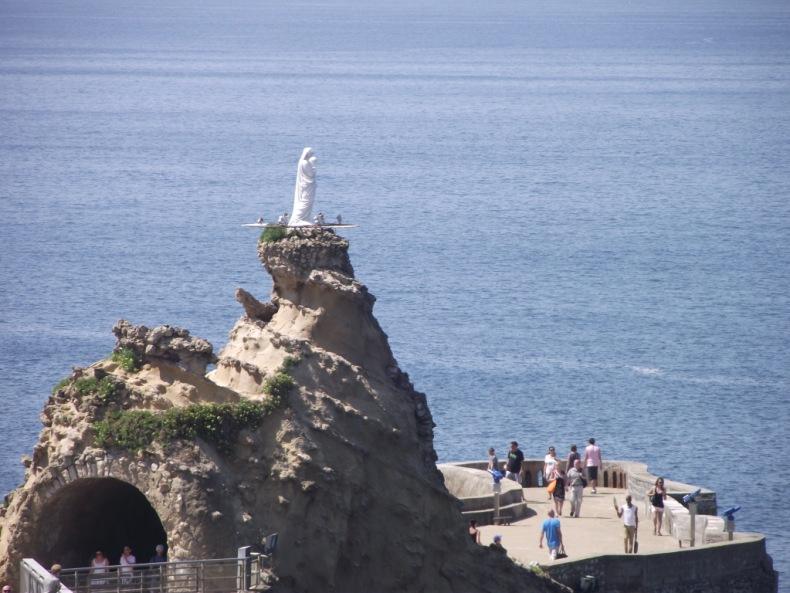 Le rocher de la Vierge