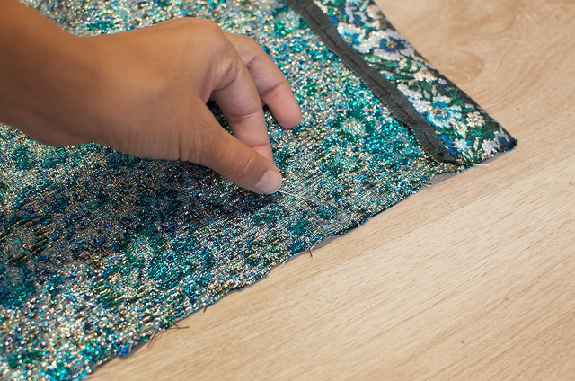 DIY : la mini jupe Brocart faite main