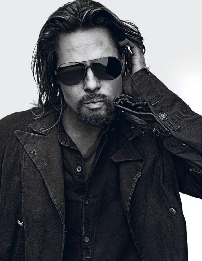 L'homme de la semaine : Brad Pitt pour Interview Magazine